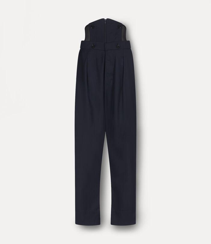 Corset Trousers Indigo 1