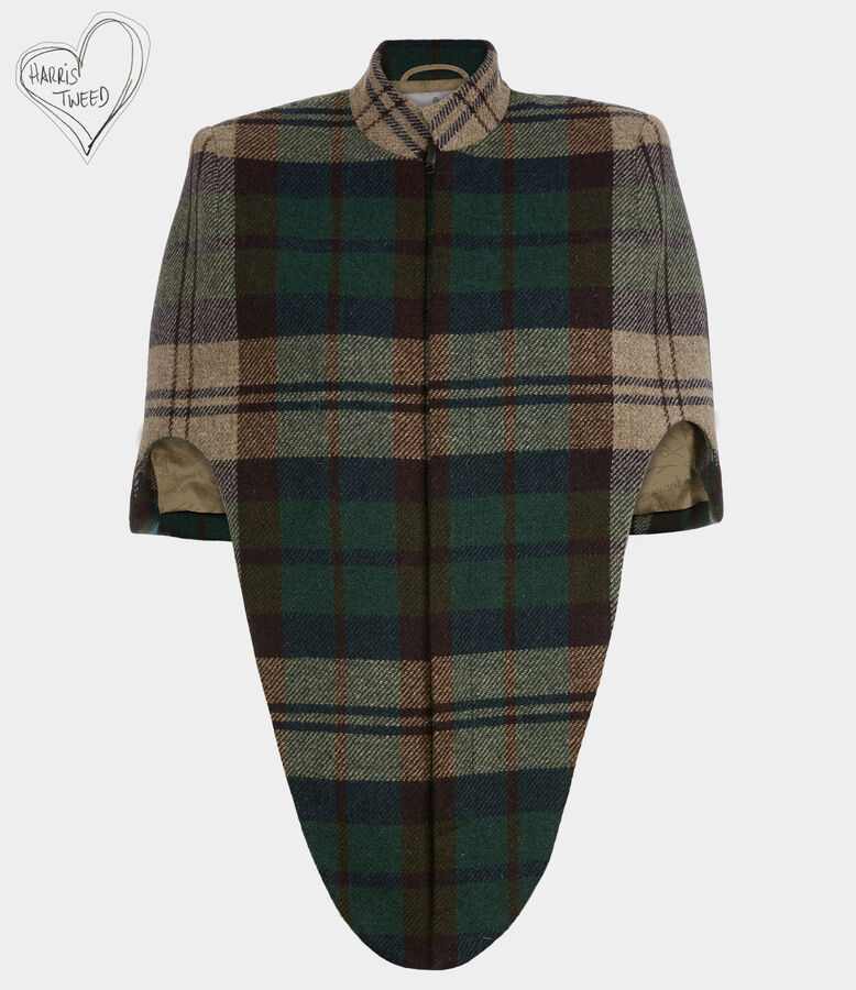 Frida Cape Invisible Green from Vivienne Westwood