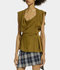 Grand Mirror Top Khaki