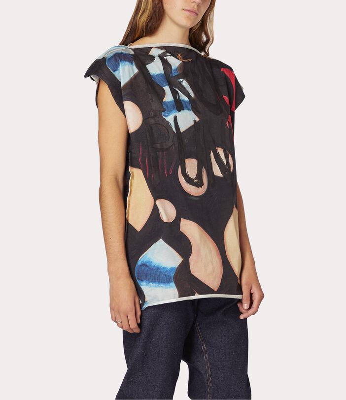 Lina Square T-Shirt Chrissie Hynde Print 7