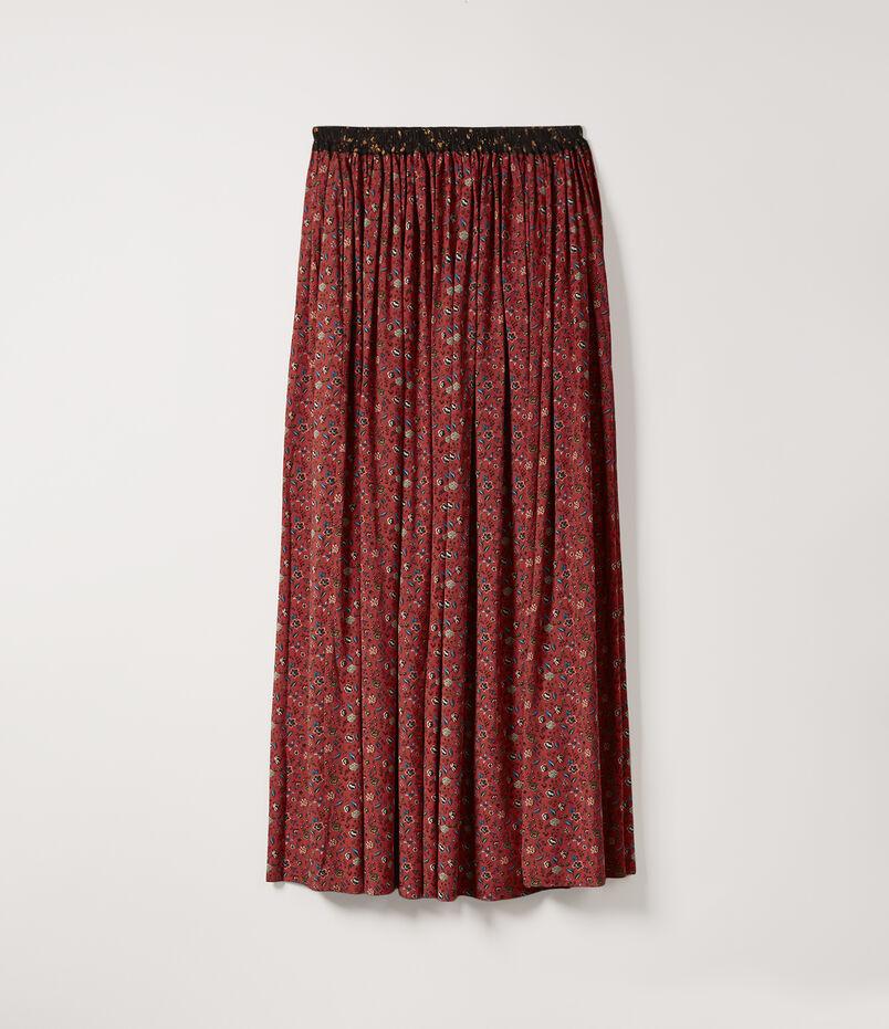 Magda Skirt Red