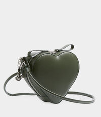 Johanna Heart Crossbody Bag Green