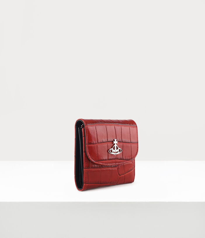 Josephine Medium Wallet With Coin Pocket Red 2