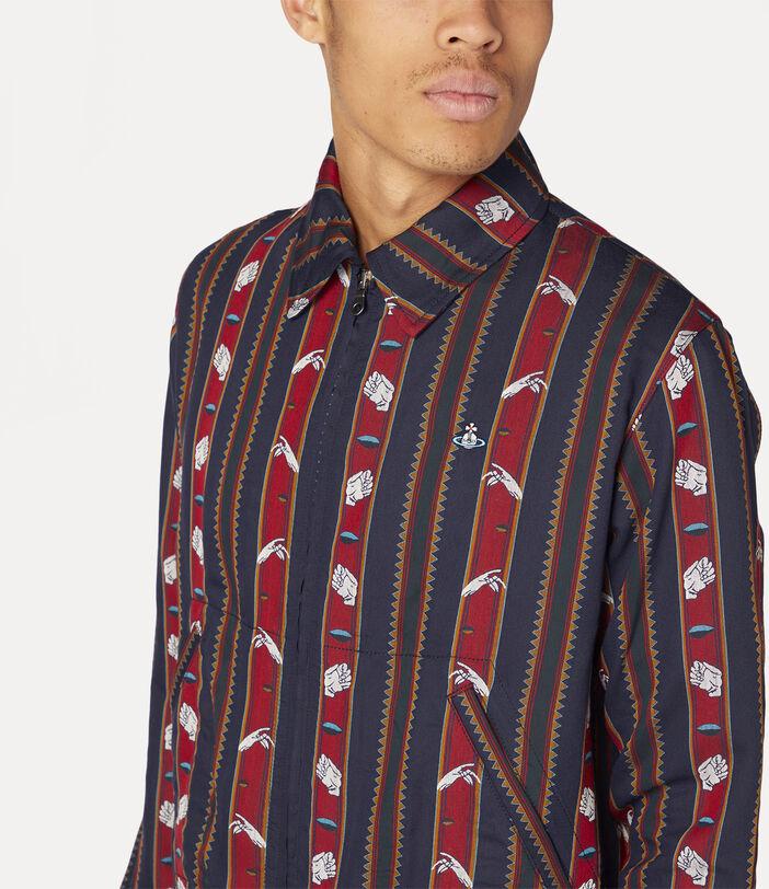 Elasticated Shirt Chrissie Stripes 5