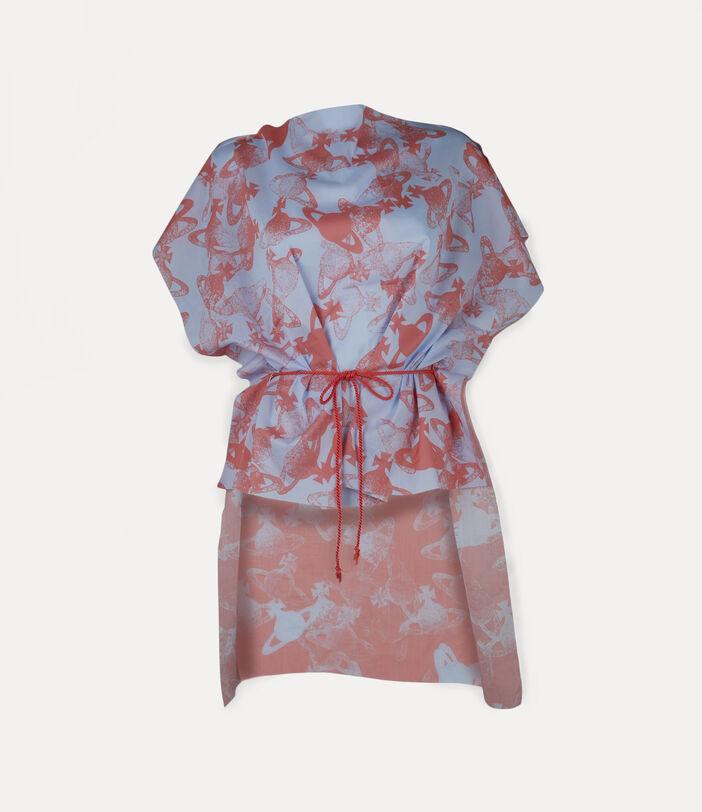 Beach Dress Coral Red 1