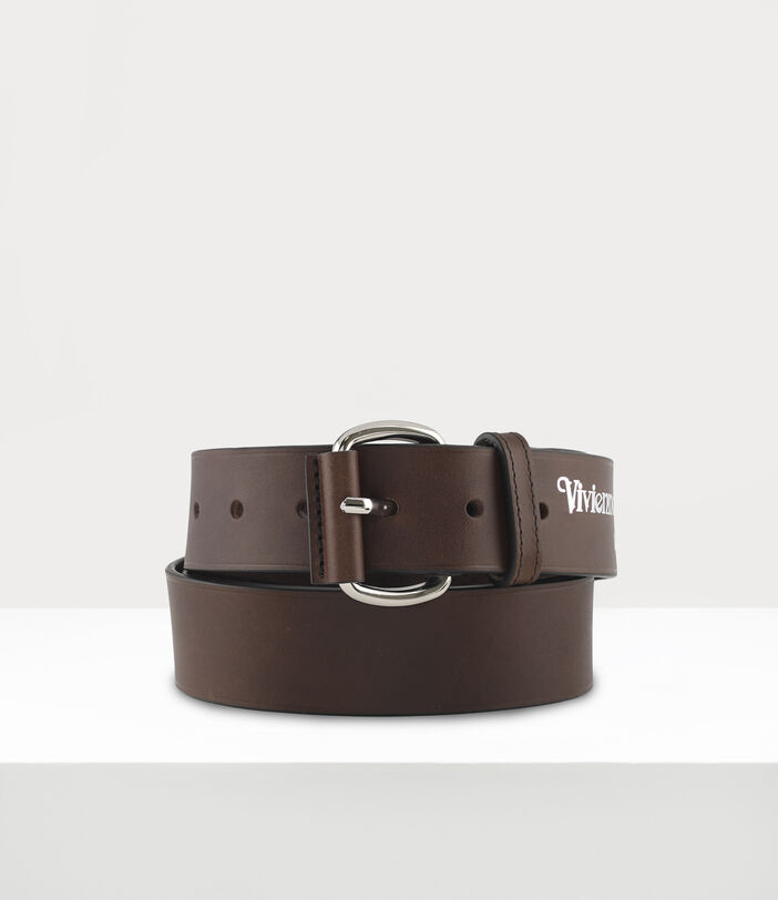 Roller Buckle Belt Brown 1