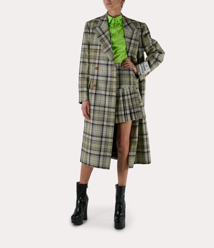 39 Steps Coat Green/Beige 3