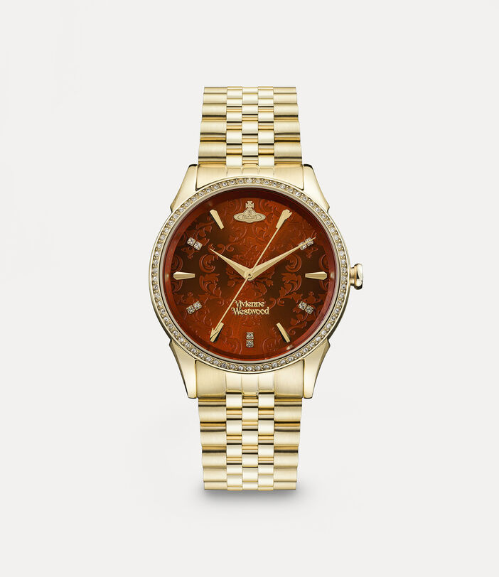 Wallace Watch Red/Gold 1