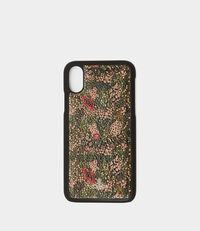 iPhone X Case Camouflage Green