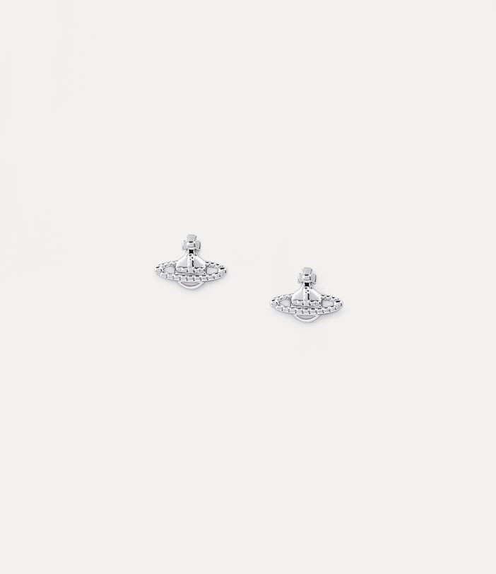 Farah Earrings Silver-Tone 1