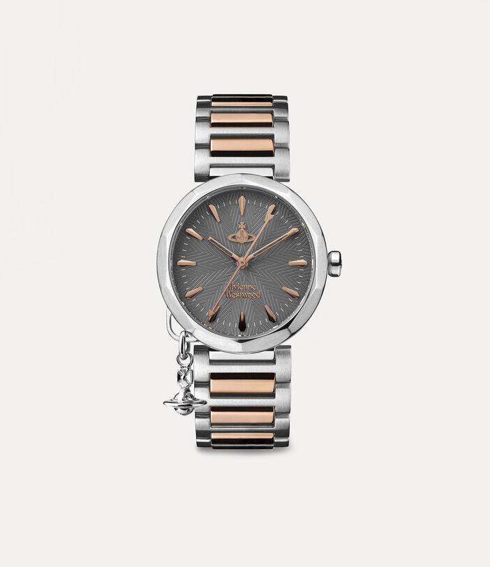 Poplar Watch Rose Gold/Charcoal 1