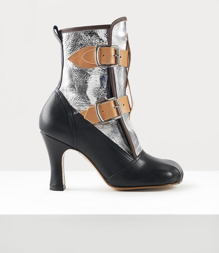 Bondage Boots Silver 1
