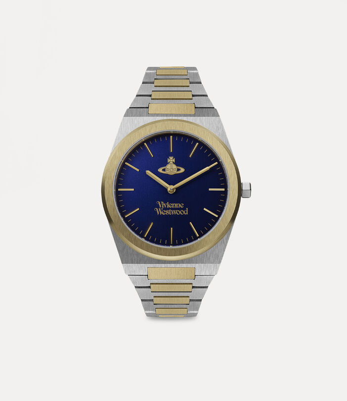 Limehouse Grand Watch Blue/Silver 1