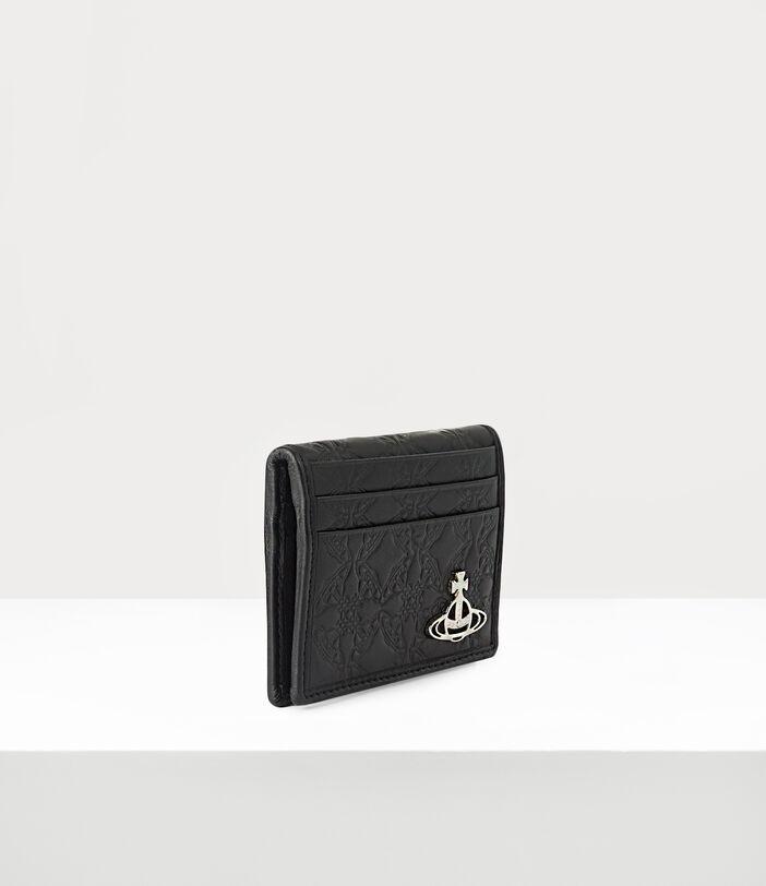 George Man Card Holder Black 2