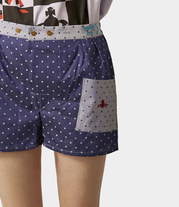 We Boxer Shorts Navy/Silver Dots 9