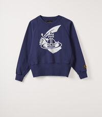 Athletic Sweatshirt Navy