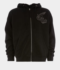 Classic Hoodie with Patch Black