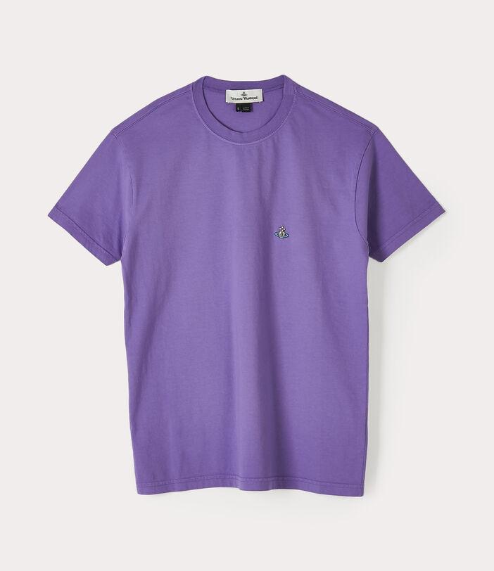 Classic T-Shirt Multicolour Orb Purple 1