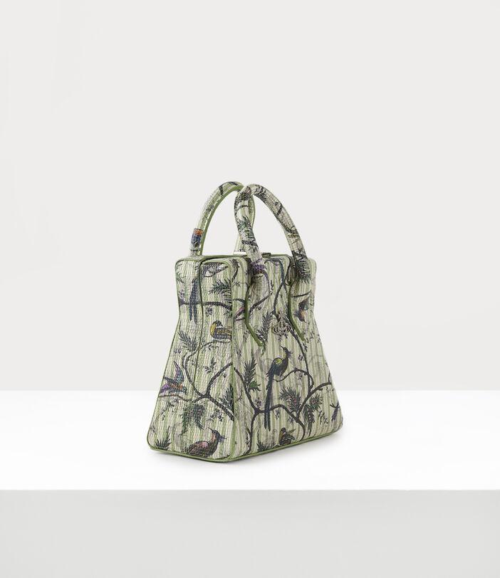 Kelly Small Handbag Bird Of Paradise Print 3