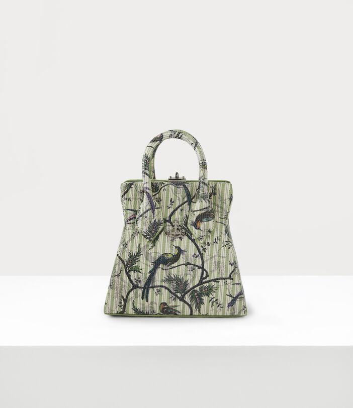 Kelly Small Handbag Bird Of Paradise Print 1