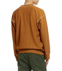 Square Sweatshirt Orange