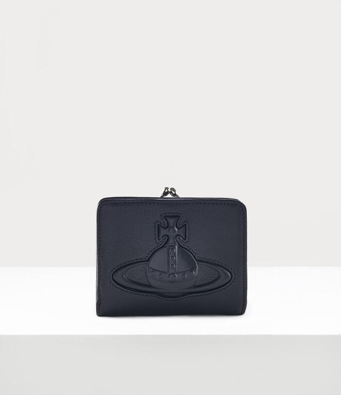 Chelsea Wallet With Frame Pocket Black 1