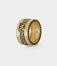 Sterling Silver Mateo Ring Gold Plated