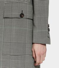 Town Coat Black & White