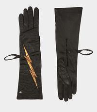 Long Gloves Brown