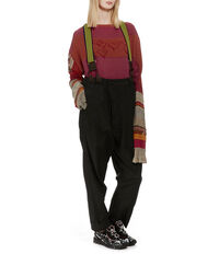 Philippo Trousers Black Moire