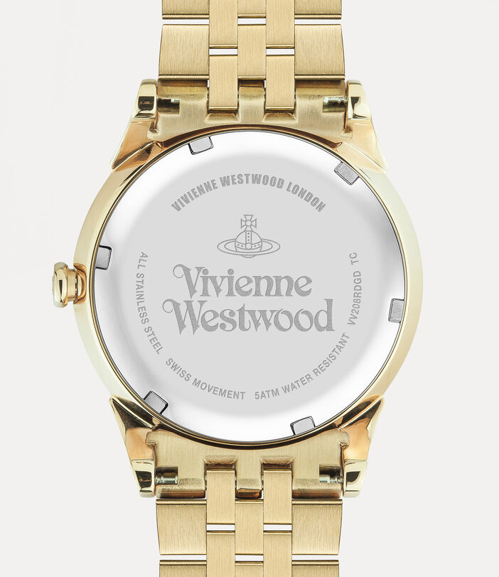 Wallace Watch Red/Gold 4