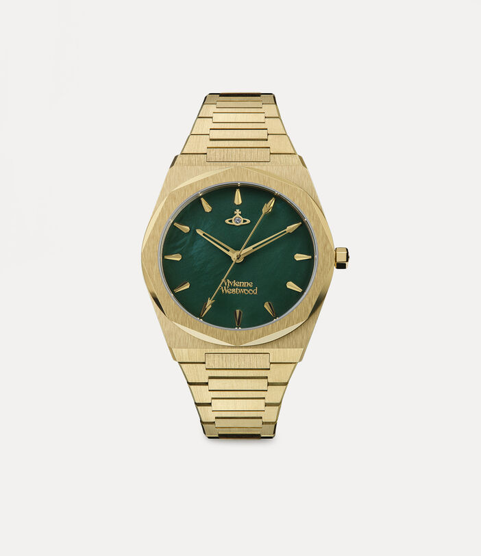 Limehouse Watch Green/Gold 1