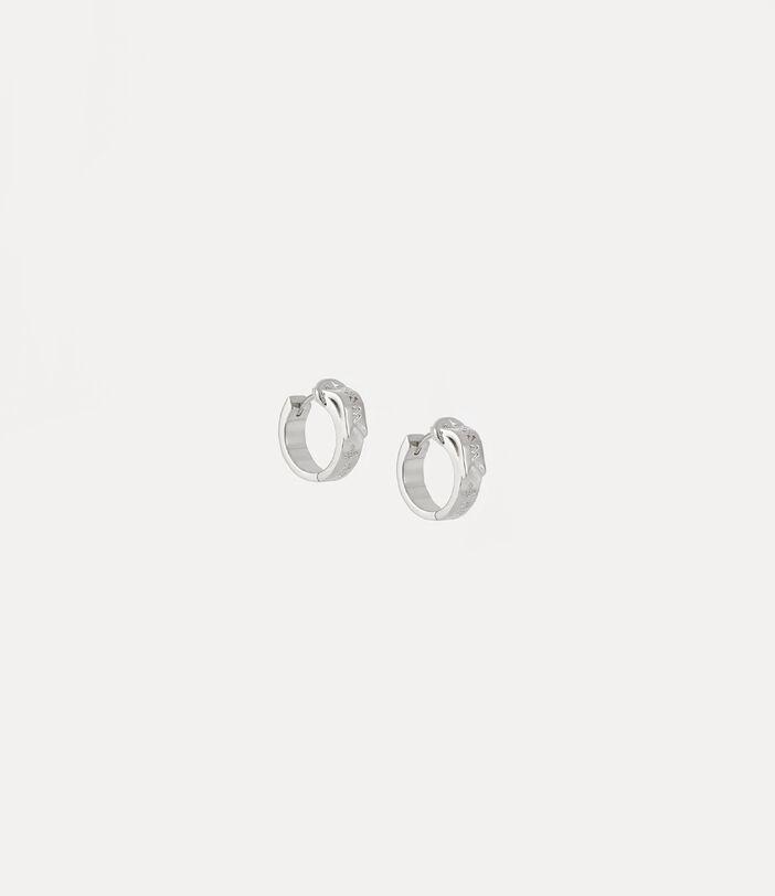 Bobby Earrings Silver-Tone 1