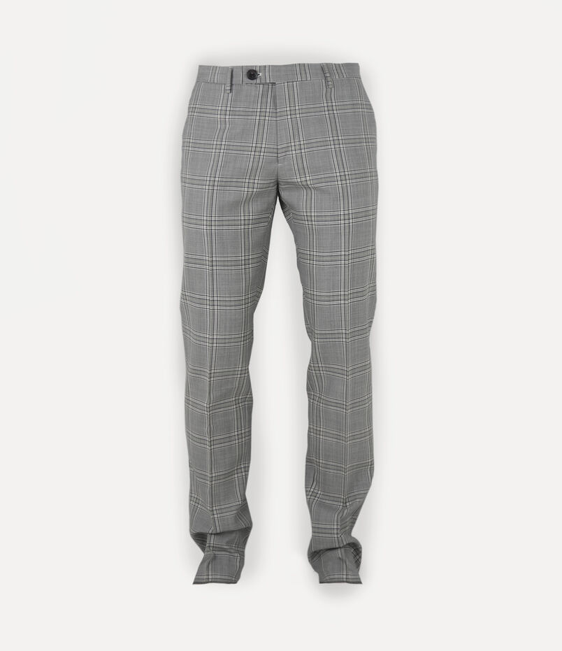 Vivienne Westwood Classic Trousers Grey Check
