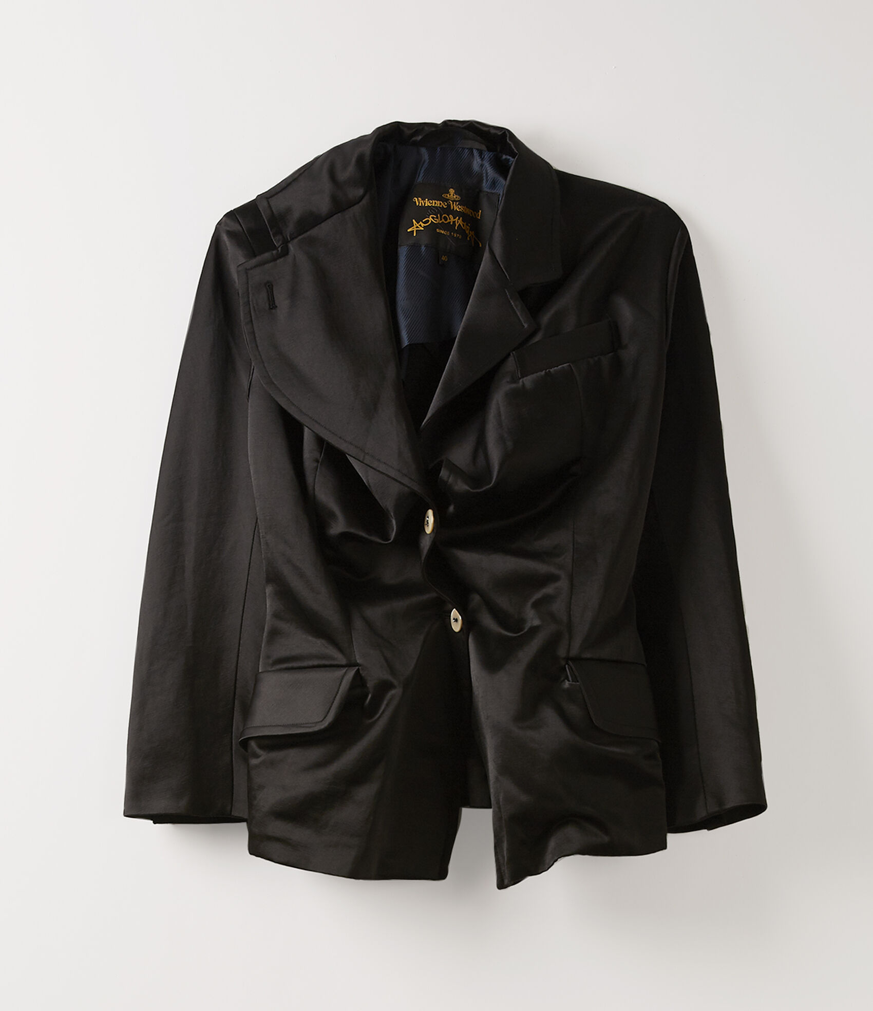 Alcoholic Jacket in Black from Vivienne Westwood